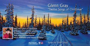 Glenn Gray - Twelve Songs of Christmas - Booklet