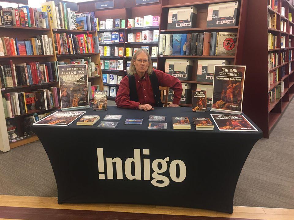 Glenn Gray Book Signing Chapters Indigo
